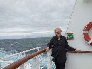 Aboard the 'Royal Princess'
