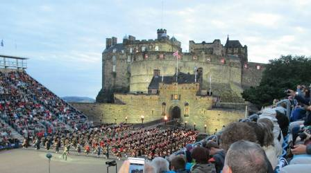 The Scottish Tattoo at Edinburgh Castle